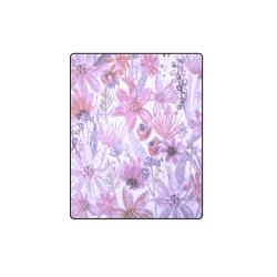"""Floral Blanket 40""""x50"""""""