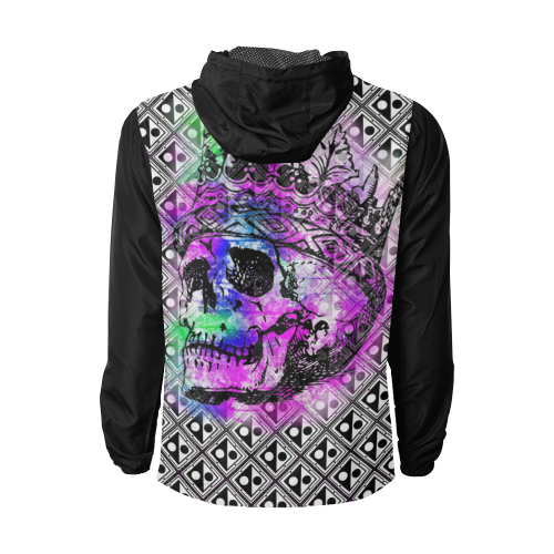 PATTERN SKULL WINDBREAKER II Unisex All Over Print Windbreaker (Model H23)