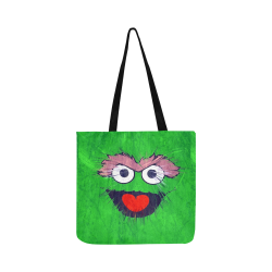 Green Catoon by Artdream Reusable Shopping Bag Model 1660 (Two sides)