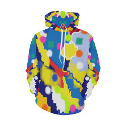 CONFETTI NIGHTS 4 All Over Print Hoodie for Women (USA Size) (Model H13)