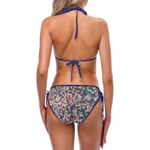 buttons Custom Bikini Swimsuit (Model S01)