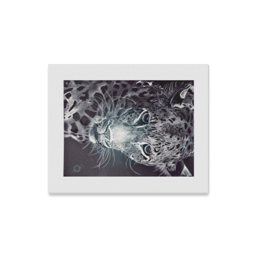 "Schwanke Leopard Canvas Print 16""x20"""