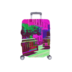 """SanFrancisco_20170104_by_JAMColors Luggage Cover/Small 18""""-21"""""""