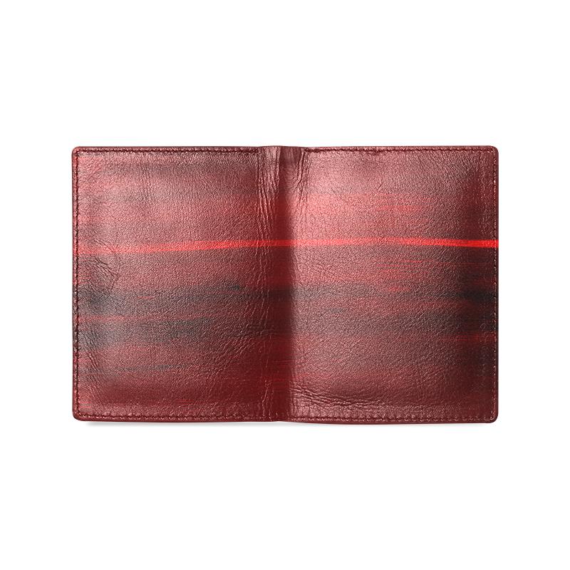 fire Men's Leather Wallet (Model 1612)