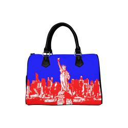 NEW YORK- Boston Handbag (Model 1621)