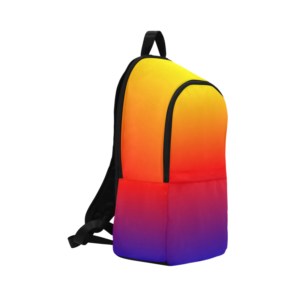 rainbow fade Fabric Backpack for Adult (Model 1659)