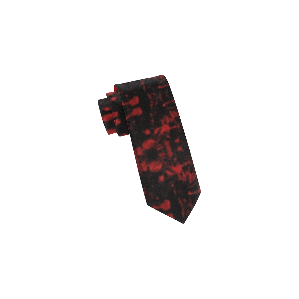 Scary Blood by Artdream Classic Necktie (Two Sides)