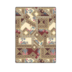 "Luxury Abstract Design Blanket 58""x80"""