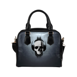 Cool Skulls Magic Metallic Shoulder Handbag (Model 1634)
