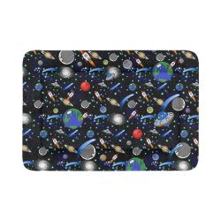 "Galaxy Universe - Planets, Stars, Comets, Rockets Pet Bed 54""x37"""