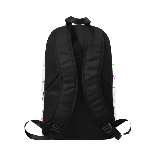 knives Fabric Backpack for Adult (Model 1659)