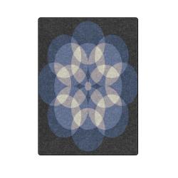 "circles Blanket 58""x80"""