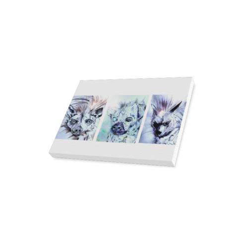 "Schwanke Hyenas Canvas Print 16""x12"""