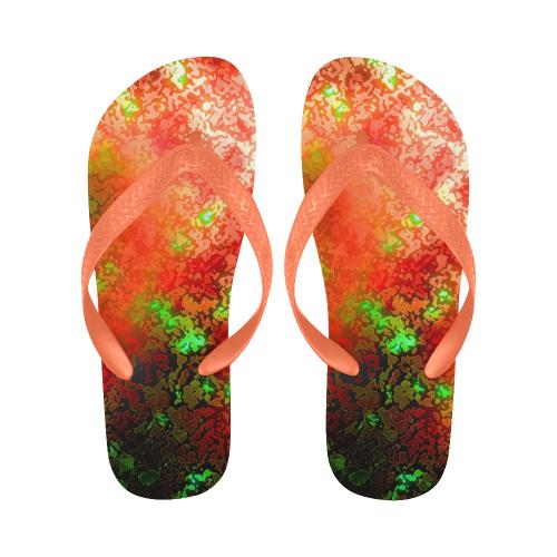 somefire New Flip Flops for Men/Women (Model 040) (Both Customized)