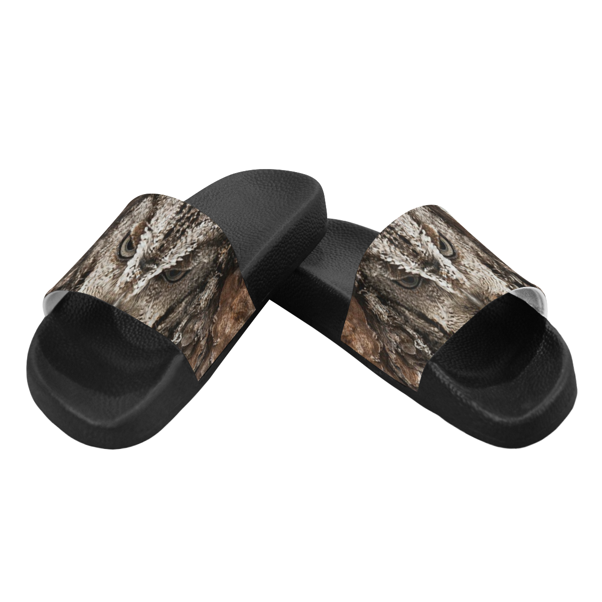 HIDDEN OWL Men's Slide Sandals (Model 057)