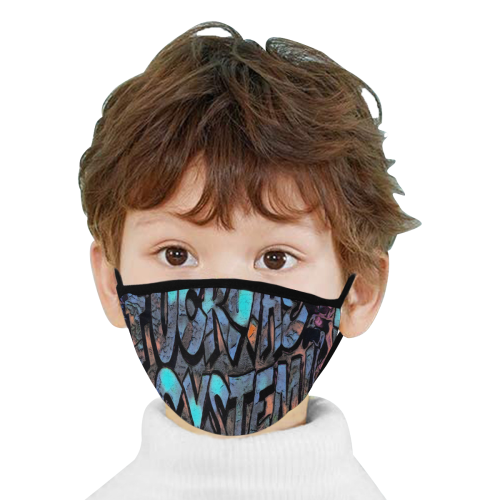 FUCK THE SYSTEM MASK Mouth Mask