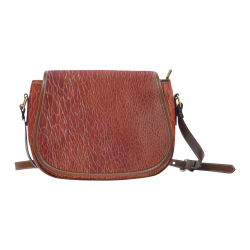 CRACKED LEATHER 3 Saddle Bag/Large (Model 1649)