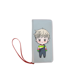 BTS Jimin chibi - Go go - rather than worry go Women's Clutch Wallet (Model 1637)