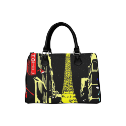 PARIS- Boston Handbag (Model 1621)