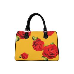 Fairlings Delight's Floral Luxury Collection- Red Rose Handbag 53086b19 Boston Handbag (Model 1621)