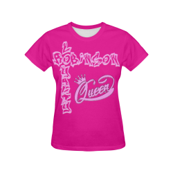 Family design All Over Print T-shirt for Women/Large Size (USA Size) (Model T40)