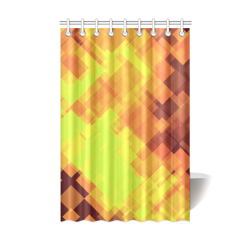 "Geo abstract 1 Shower Curtain 48""x72"""