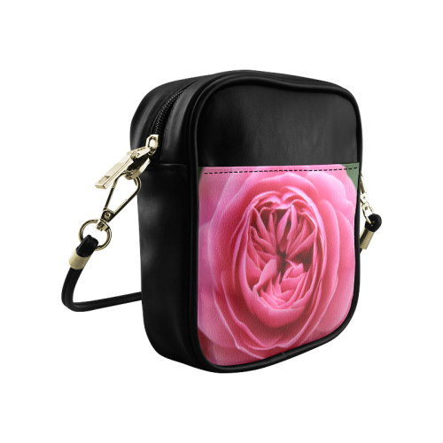 Rose Fleur Macro Sling Bag (Model 1627)