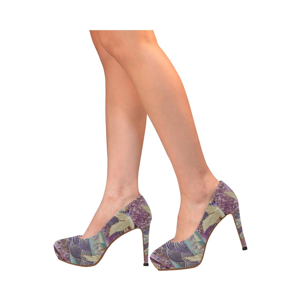 House of G - Birds Women's High Heels (Model 044)