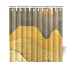 "sun space #modern #art Shower Curtain 69""x70"""
