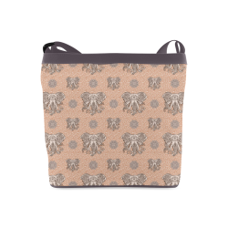 Ethnic Elephant Mandala Pattern Crossbody Bags (Model 1613)