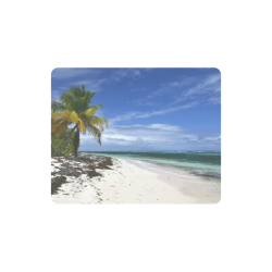 Awesome Mona Island Pajaros beach in Puerto Rico ID:DSC9204 Rectangle Mousepad