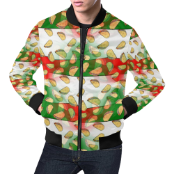 Taco by artdream All Over Print Bomber Jacket for Men (Model H19)