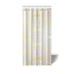 "ELEGANT SILVER GOLD DIAMONDS-1SC6 Shower Curtain 36""x72"""