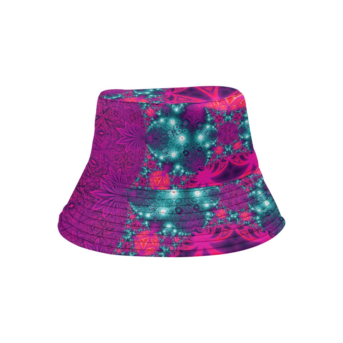Bright Colourful Tropics All Over Print Bucket Hat