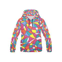 Sally All Over Print Hoodie for Kid (USA Size) (Model H13)