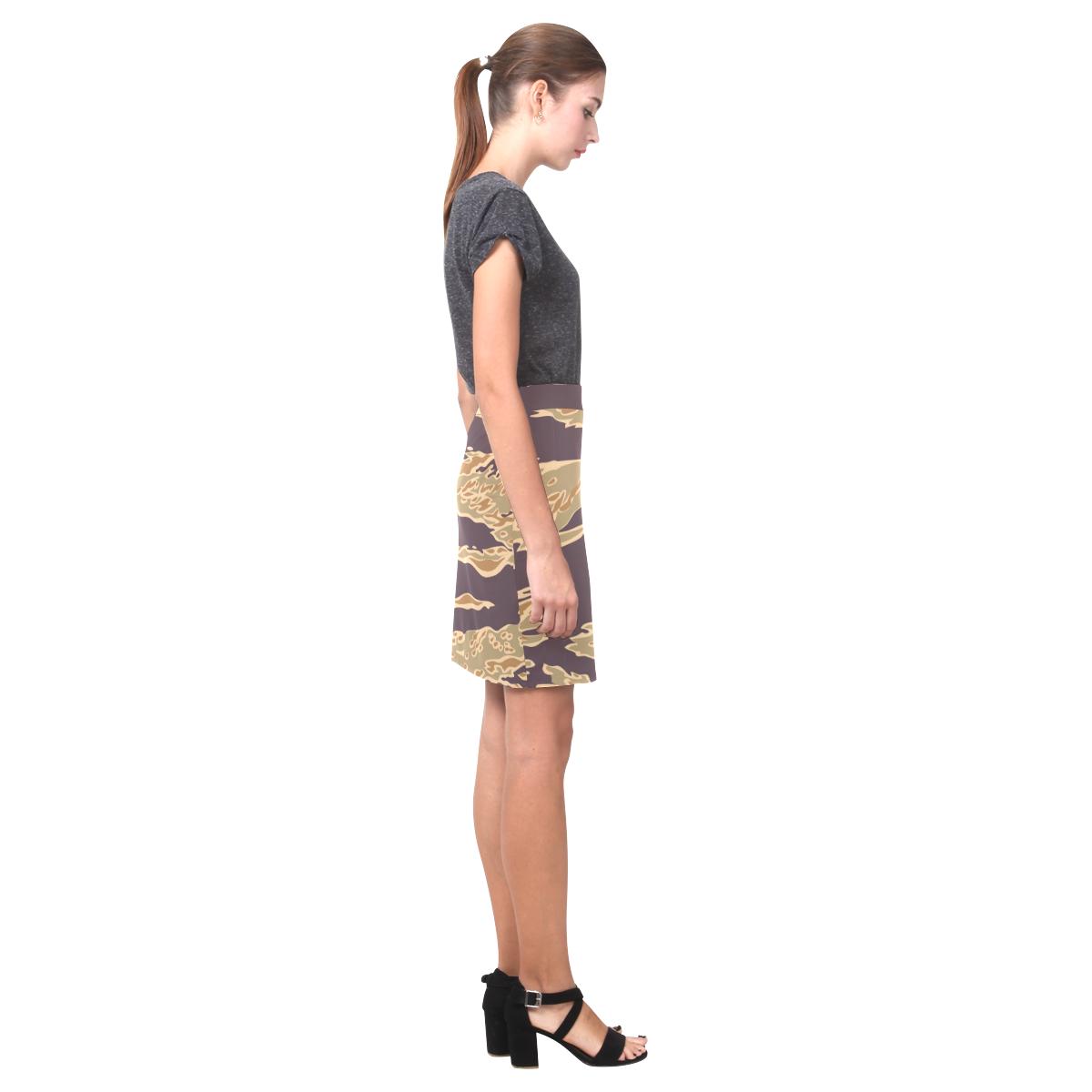 Chic Camo Short Skirt Nemesis Skirt (Model D02)