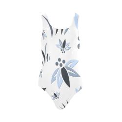 Cool Corporate Flora Vest One Piece Swimsuit (Model S04)