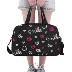 Сute smile Fitness Handbag (Model 1671)