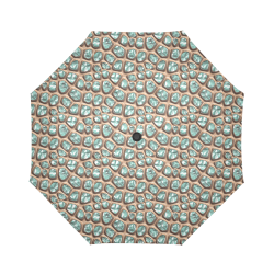 Green crystals Auto-Foldable Umbrella (Model U04)
