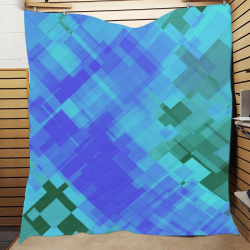 """Geo abstract 2 Quilt 60""""x70"""""""