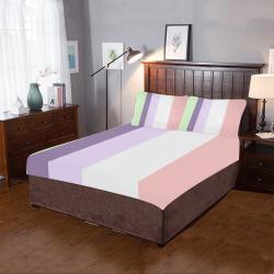 Tana Bush Stripes 3-Piece Bedding Set