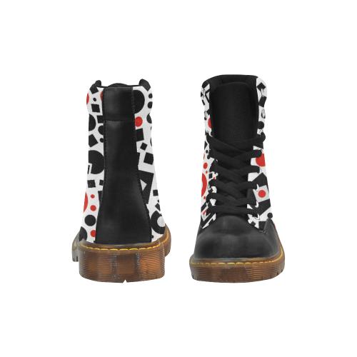 15rb Apache Round Toe Men's Winter Boots (Model 1402)