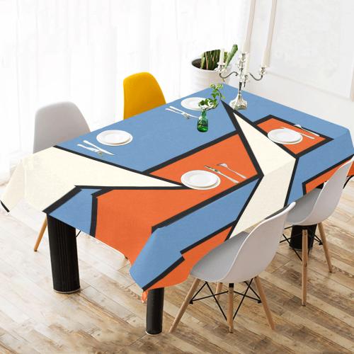 "OB 362 Cotton Linen Tablecloth 60""x 104"""