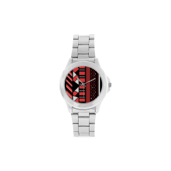 African Pride watch - Silver Unisex Stainless Steel Watch(Model 103)