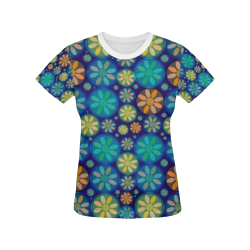 zappwaits beautiful 06 All Over Print T-shirt for Women/Large Size (USA Size) (Model T40)