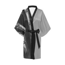 Guitar Head Kimono Robe
