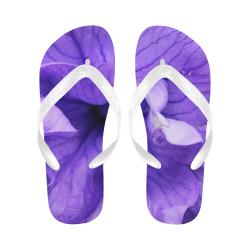 Balloon Flower Flip Flops for Men/Women (Model 040)