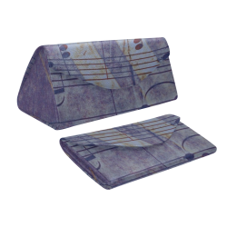 Music, vintage look C by JamColors Custom Foldable Glasses Case