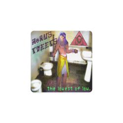 Horus Tweets Cover Square Coaster