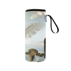 Beautiful fairy Neoprene Water Bottle Pouch/Medium